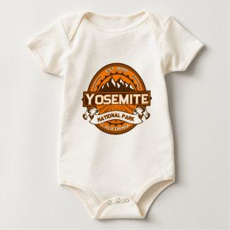 Body Para Bebê Abóbora de Yosemite