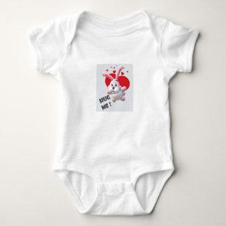 Body Para Bebê Abrace-me bodysuit do coelho