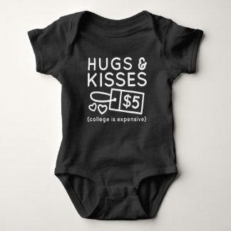 Body Para Bebê Abraços e beijos