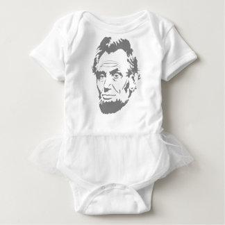 Body Para Bebê Abraham Lincoln