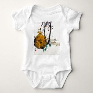 Body Para Bebê Abrigo da neve de Shibata Zeshin para uma árvore