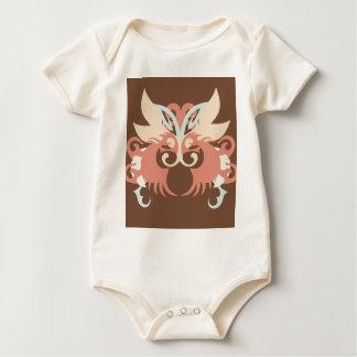 Body Para Bebê Abstracção cinco Tlaloc