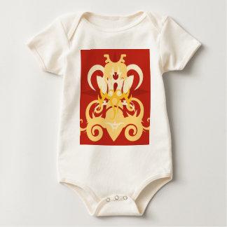 Body Para Bebê Abstracção uma Osiris