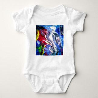 Body Para Bebê Abstractamente em perfeição