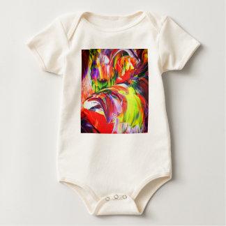 Body Para Bebê Abstractamente em perfeição 6