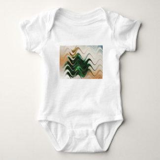 Body Para Bebê Abstrato da árvore de Natal