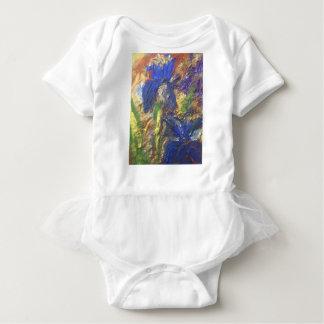 Body Para Bebê Abstrato da íris