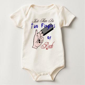 Body Para Bebê Ação do bebê de dois dedos!