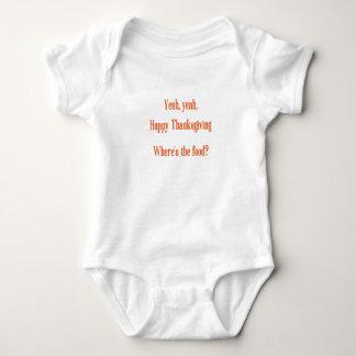 Body Para Bebê Acção de graças