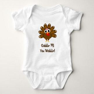Body Para Bebê Acção de graças do bebê a ?a devora até que você