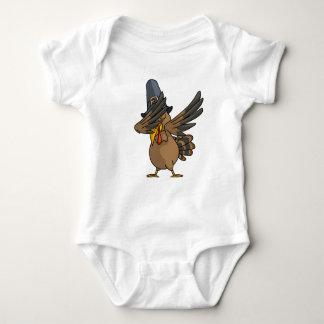 Body Para Bebê Acção de graças engraçada de toque ligeiro do