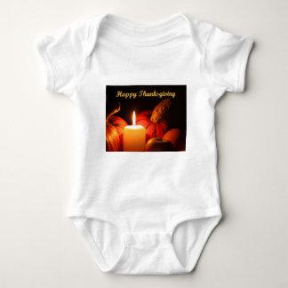 Body Para Bebê Acção de graças feliz