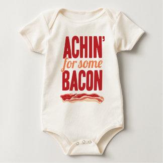 Body Para Bebê Achin para algum bacon