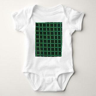 Body Para Bebê Ácido Polylactic sob o microscópio