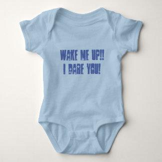 Body Para Bebê Acorde-me acima!! Eu ouso-o! Bebê uma parte