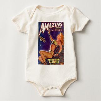 Body Para Bebê Acorrentado a uma rocha