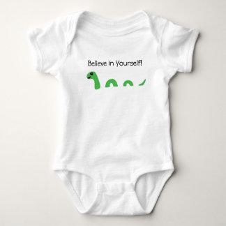 Body Para Bebê Acredite em o senhor mesmo o monstro de Loch Ness