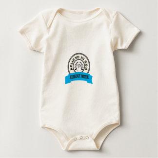 Body Para Bebê acredite no unicórnio do deus