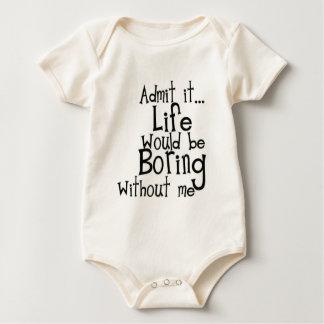 Body Para Bebê Admita-o… Vida…