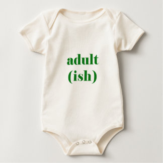 Body Para Bebê Adultish