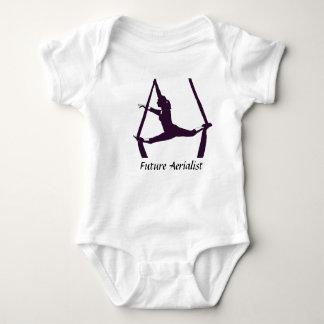 Body Para Bebê Aerialist futuro
