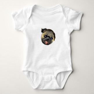 Body Para Bebê afague meu pug