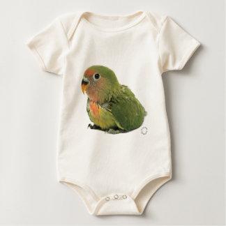 Body Para Bebê Agapornis do bebê do corpo