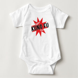 Body Para Bebê Agora com o aperto super de Kung Fu!