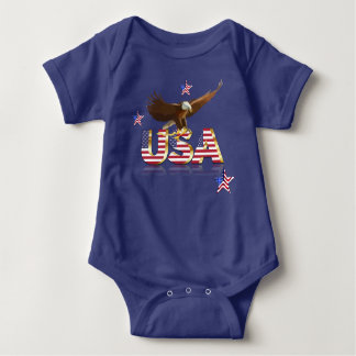 Body Para Bebê Águia americana