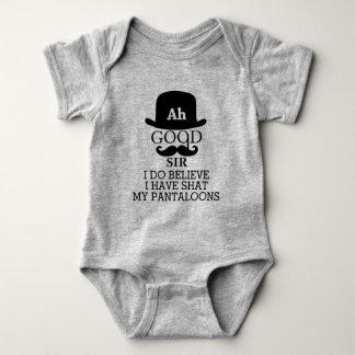 Body Para Bebê Ah o bom senhor Eu Fazer Crença Eu cagou meus
