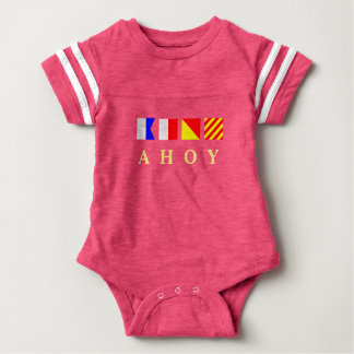 Body Para Bebê Ahoy