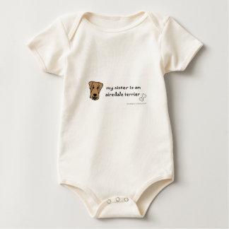 Body Para Bebê airedale