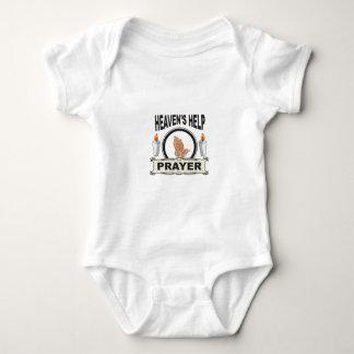 Body Para Bebê ajuda do céu da vela