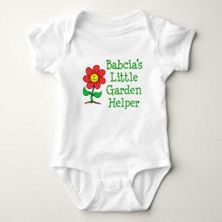 Body Para Bebê Ajudante do jardim de Babcia pouco