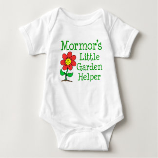 Body Para Bebê Ajudante do jardim de Mormor pouco