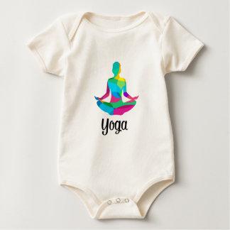 Body Para Bebê Ajuste e malhação da ioga
