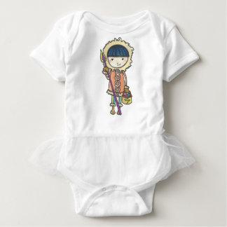 Body Para Bebê Akiou o pequeno inuit