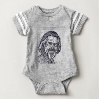 Body Para Bebê ALAN WATTS - retrato da tinta