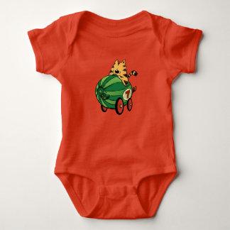 Body Para Bebê Albert e seu passeio da melancia