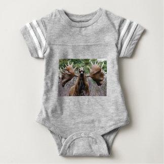 Body Para Bebê alces estranhos do touro