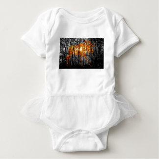 Body Para Bebê Alces nas árvores