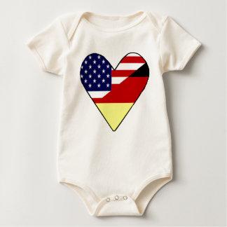 Body Para Bebê Alemão - americano