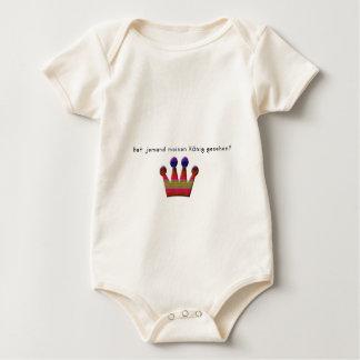 Body Para Bebê Alemão - rei
