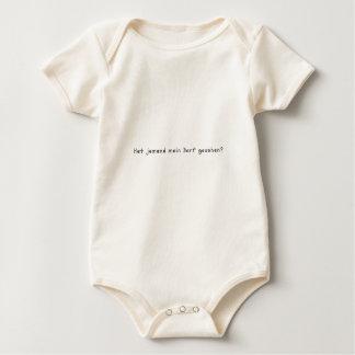 Body Para Bebê Alemão - vila