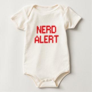 Body Para Bebê Alerta do nerd