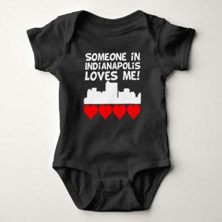 Body Para Bebê Alguém em Indianapolis Indiana ama-me