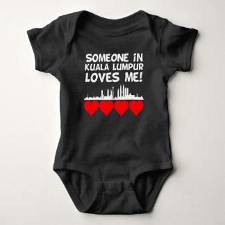 Body Para Bebê Alguém em Kuala Lumpur ama-me