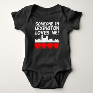 Body Para Bebê Alguém em Lexington Kentucky ama-me