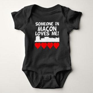 Body Para Bebê Alguém em Macon Geórgia ama-me