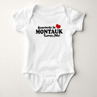Body Para Bebê Alguém em Montauk ama-me